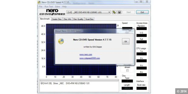 Nero CD-DVD Speed 4.7.7.15