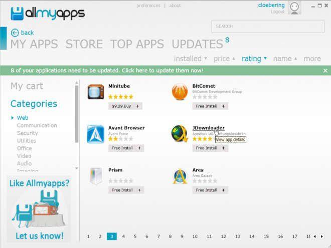Praktischen App-Store für Windows installieren - PC-WELT