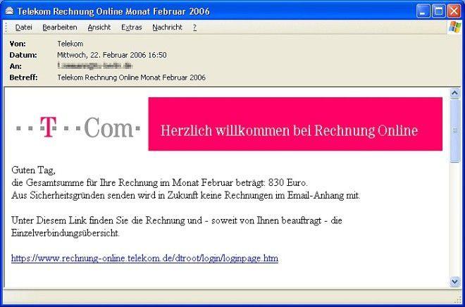 Telekom rechnung login online Rechnung