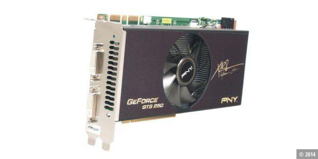 Grafikkarte im Test: PNY Geforce GTS 250 XLR8 1024MB