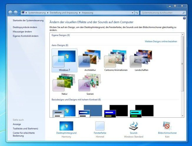 Windows desktop hintergrund architektur