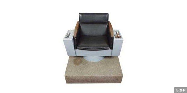 kommandostuhl von captain kirk bei ebay zu ersteigern pc welt. Black Bedroom Furniture Sets. Home Design Ideas