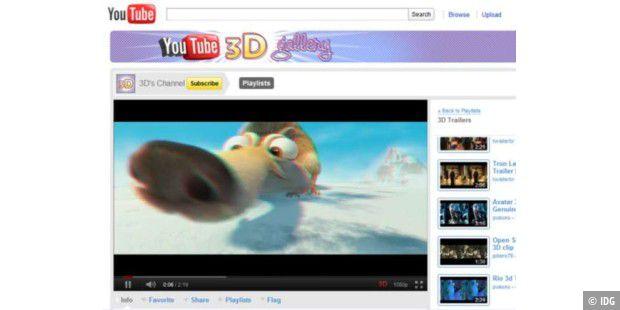 Videos mit dem Internet