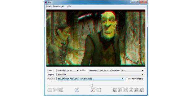 3D-Abspielprogramm Bino