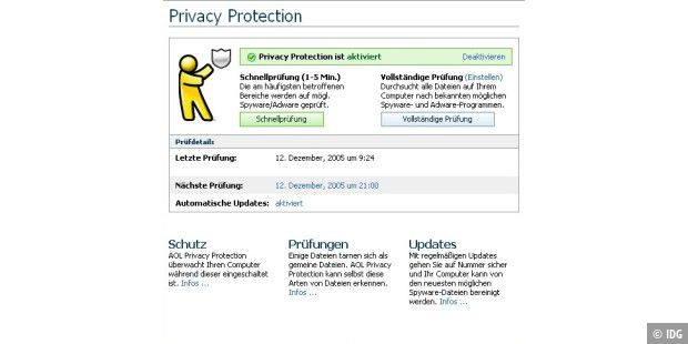 AOL Privacy Protection
