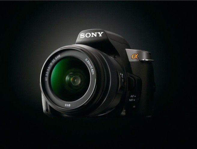 spiegelreflexkamera sony alpha a380 im test pc welt. Black Bedroom Furniture Sets. Home Design Ideas