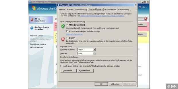 Windows Live One Care 2.0