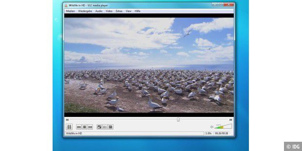 VLC Media Player 1.0.1 erschienen