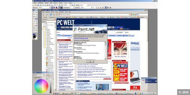Hintergrund unscharf paint net