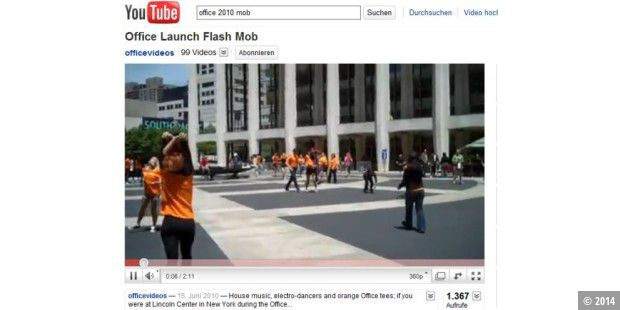 Office 2010 Flash Mob
