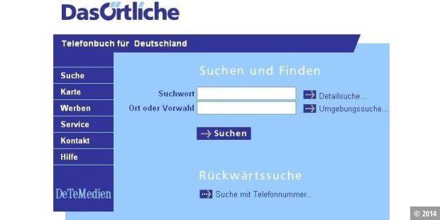 Telefonnummer Vorwahl Rückwärtssuche