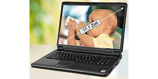 17 Zoll WGXGA Notebook NOT01176