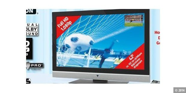 Full-HD-TV & 8-Megapixel-Digitalkamera im Angebot