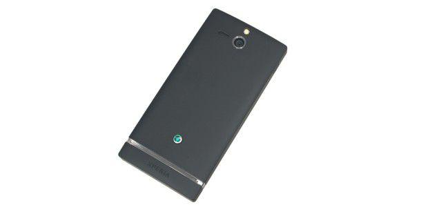 Sony Xperia U mit einer 5-Megapixel-Kamera