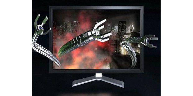 Geforce 3D Vision: Nvidias 3D-Brille ist bald erhältlich.