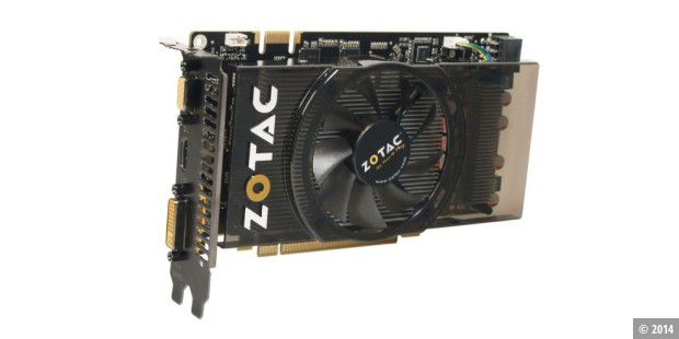 Grafikkarte im Test: Zotac Geforce GTS250 Eco