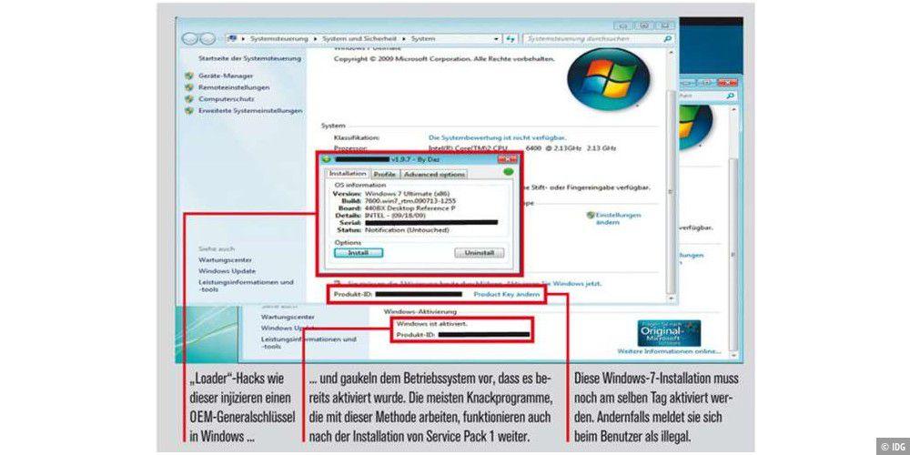 Fine So Knacken Cracker Die Aktivierung Von Windows 7 Pc Welt Download Free Architecture Designs Rallybritishbridgeorg
