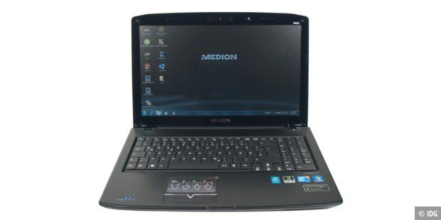 Aldi-Notebook im Test: Medion Akoya P6630