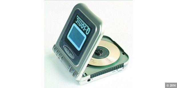 Q-Sonic Mini-CD/MP3-Player - PC-WELT
