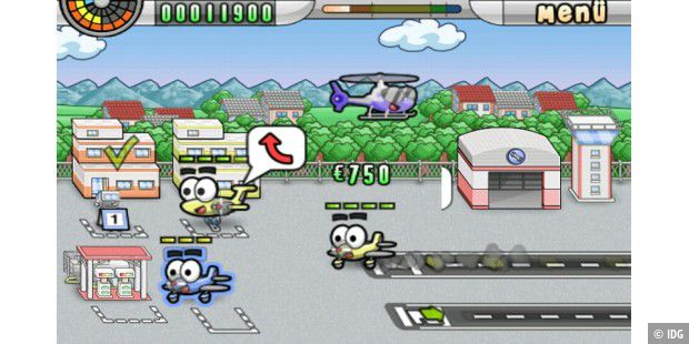 "Android-App ""Airport Mania"""