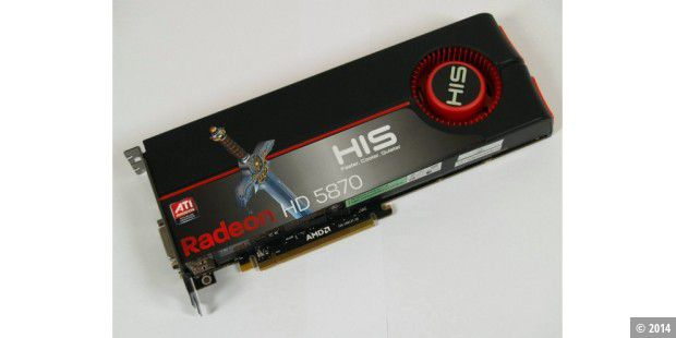 Grafikkarte HIS Radeon HD 5870 im Test