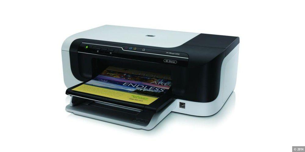 der tintenstrahldrucker hp officejet 6000 im test alle testergebnisse und technischen daten. Black Bedroom Furniture Sets. Home Design Ideas