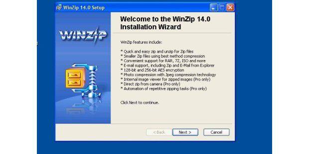 WinZip 14