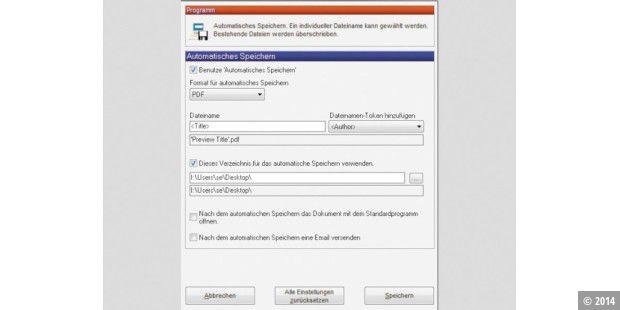 PDF Creator-Dateien vollautomatisch als PDF ablegen - PC-WELT