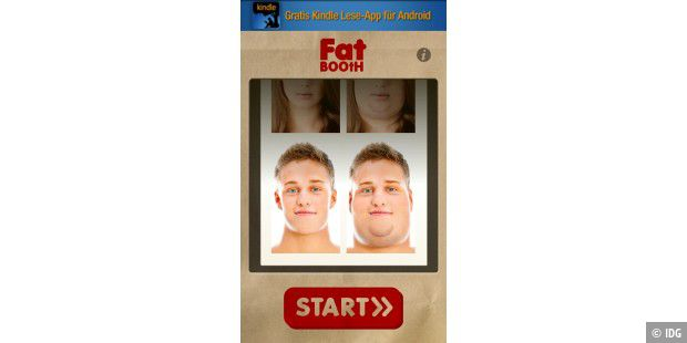 "Android-App ""FatBooth"""