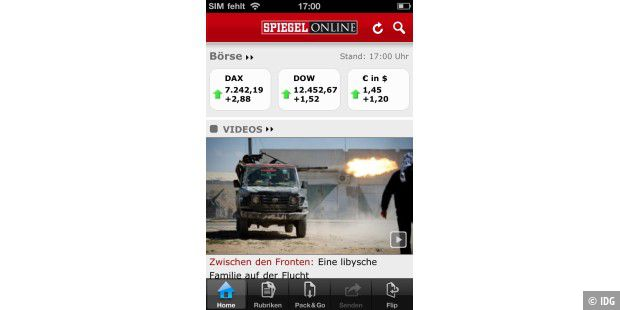 iPhone-App Spiegel Online