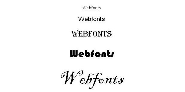 Webfonts mit IE9