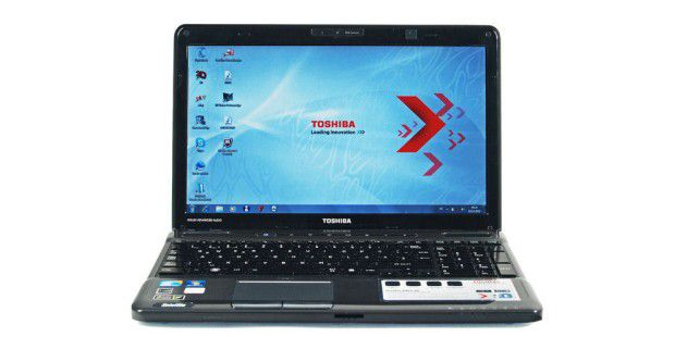 3D-Notebook im Test: Toshiba Satellite A665-14F