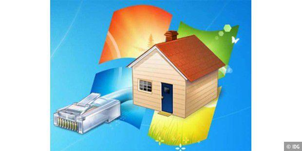workshop heimnetzwerk unter windows 7 einrichten pc welt. Black Bedroom Furniture Sets. Home Design Ideas