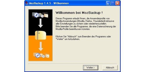 Gratis-Backup-Tool für Firefox & Co. in neuer Version