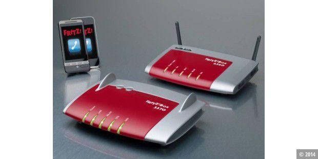 fritz box mit 450 mbit wlan f r tv kabel app f r. Black Bedroom Furniture Sets. Home Design Ideas