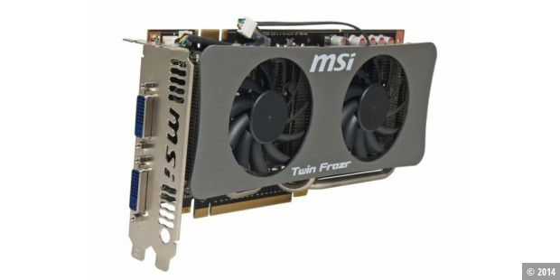 Grafikarte im Test: MSI N250GTS Twin Frozr 1G