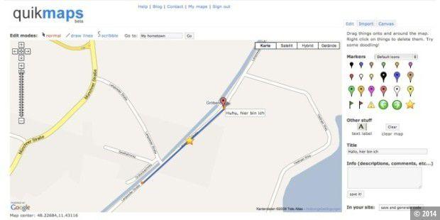 Zeichnen in Google Maps - PC-WELT