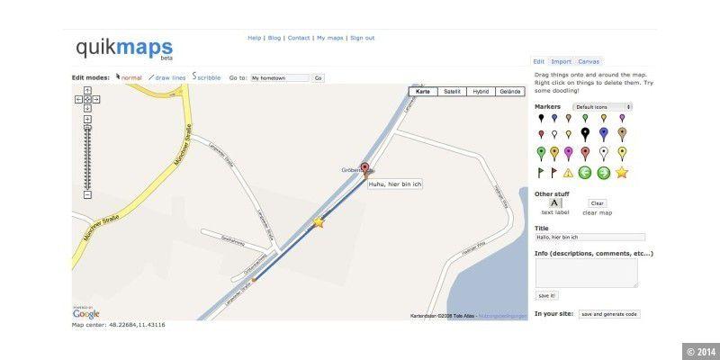 Zeichnen In Google Maps Pc Welt