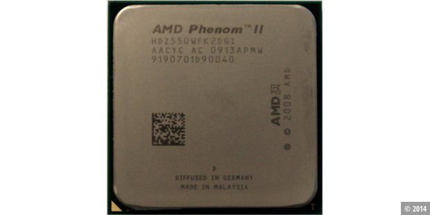 AMD Phenom II X2 550 Black Edition im CPU-Test