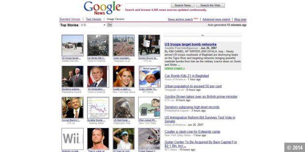 Google News Schlagzeilen Des Tages Als Bilder Galerie Pc Welt