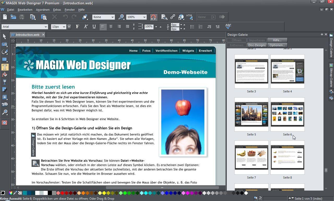 Web Designer 7 Premium im Test - PC-WELT