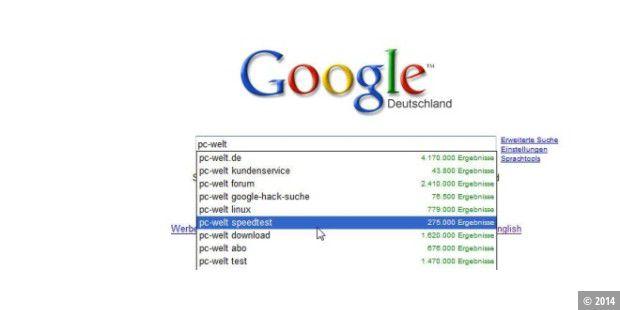 Google Suggest Auf Deutsch Verfügbar Pc Welt