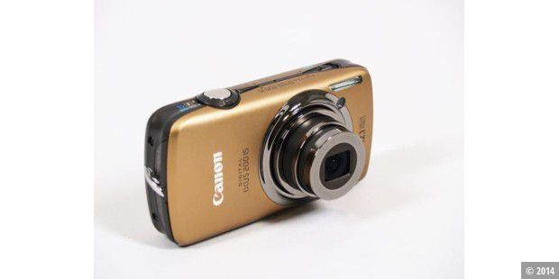 Canon Digital Ixus 200 IS im Test