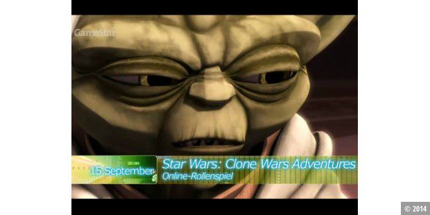 Yoda in Clone Wars Adventures