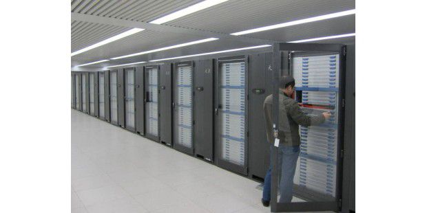 Supercomputer Tianhe-1A in China (Quelle: Nvidia)