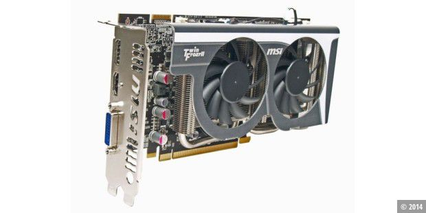 Grafikkarte im Test: MSI Radeon HD 5770 Hawk