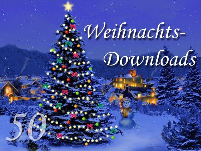 50 stimmungsvolle weihnachts downloads 2009 pc welt. Black Bedroom Furniture Sets. Home Design Ideas