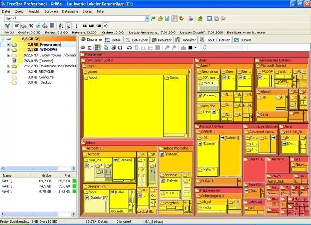 Treesize Professional 5 - PC-WELT