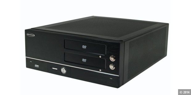 silentmaxx htpc fanless amd im test pc welt. Black Bedroom Furniture Sets. Home Design Ideas