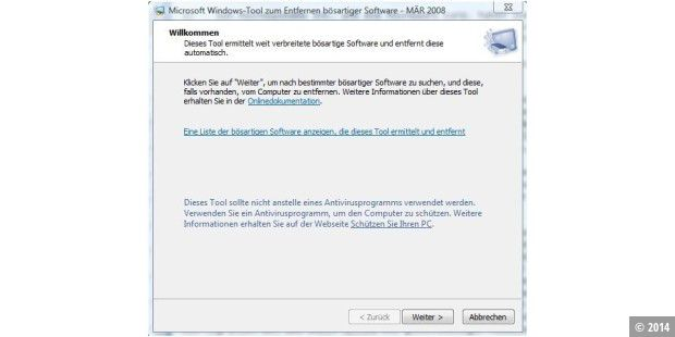Malicious Software Removal Tool 1.39
